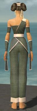 Monk Ascalon Armor F gray back