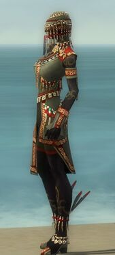 Ritualist Elite Canthan Armor F gray side