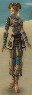 Monk Luxon Armor F gray front