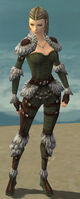 Ranger Elite Fur-Lined Armor F gray front