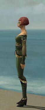Mesmer Luxon Armor F gray side