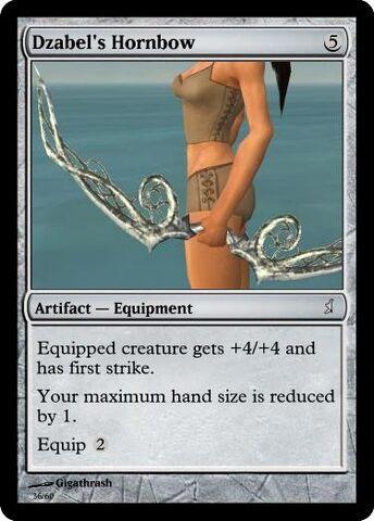 File:Giga's Dzabel's Hornbow Magic Card.jpg