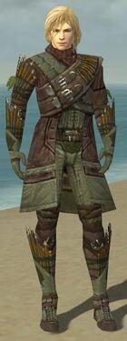 Ranger Elite Druid Armor M gray front