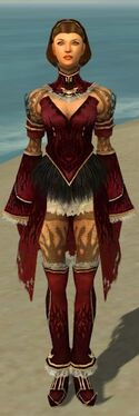 Mesmer Primeval Armor F dyed front