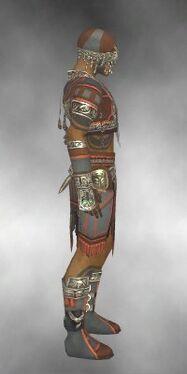 Ritualist Asuran Armor M gray side