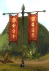 Gates of Kryta camp pennant