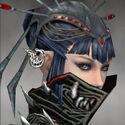 Necromancer Elite Luxon Armor F gray earrings
