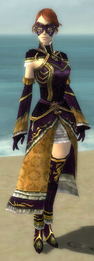 Mesmer Elite Sunspear Armor F dyed front