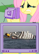 112830 - costa concordia cruise ship fluttercry fluttershy cry tv meme