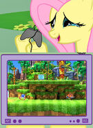 121538 - fluttercry fluttershy gamershy green hill Green Hill Zone happy fluttercry happy gamercry sonic generations Sonic the Hedgehog tv meme