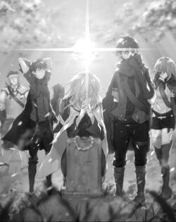 Manato's death light novel