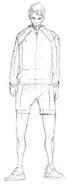 Wakatoshi Ushijima Sketch