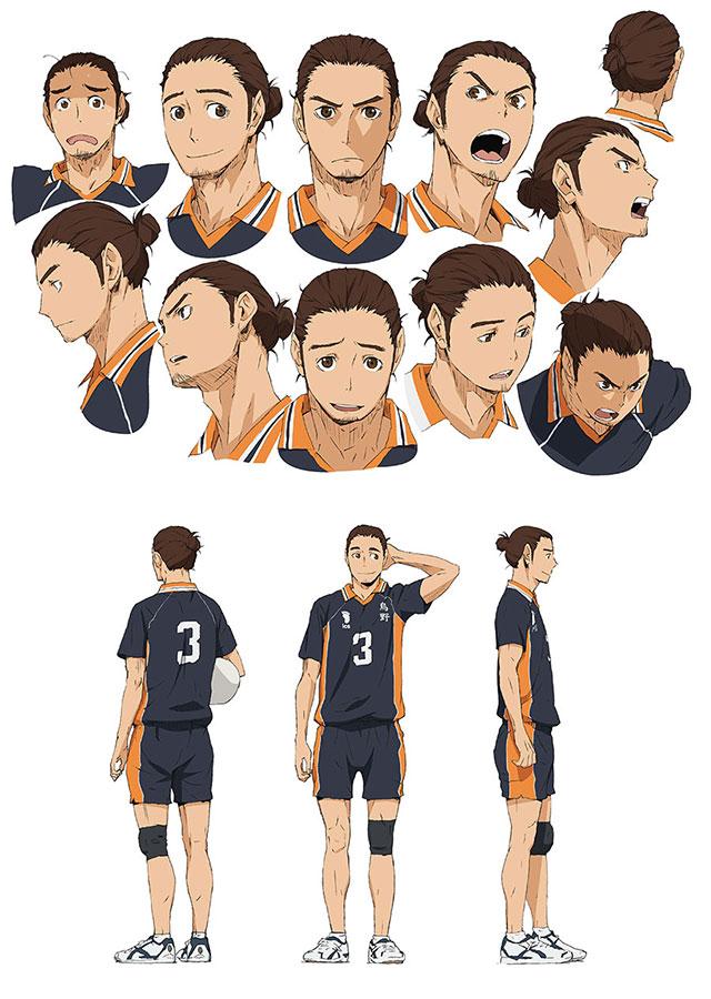 Character Design Wiki : Image asahi character design g haikyuu wiki