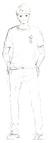Akiteru Tsukishima Sketch