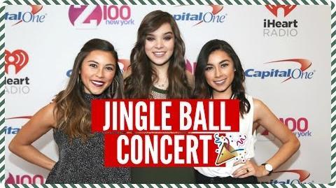 VLOGMAS DAY 11 - Meeting Hailee Steinfeld, Shopping, & Jingle Ball Concert!