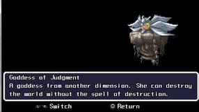 Goddess of Judgement