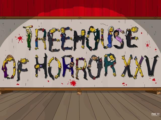 Simpsons Treehouse Of Horror Xxv Part - 42: Treehouse Of Horror XXV | Halloween Specials Wiki | FANDOM Powered By Wikia