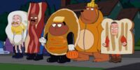 It's the Great Pancake, Cleveland Brown