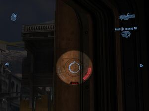 Spartan Laser Reticle Scoped