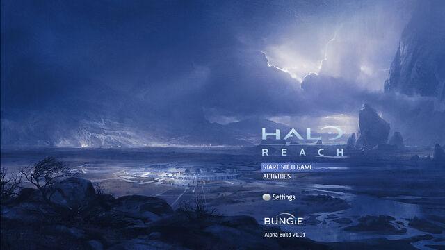 File:Halo Reach - Alpha Build Menu.jpg