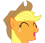 File:AppleJack emoticon.png