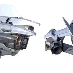 军刀战斗机的一个概念模型。