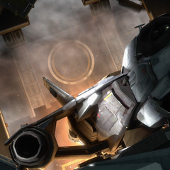 一架军刀战斗机即将发射。