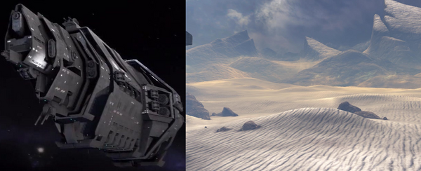 Various mission locations
