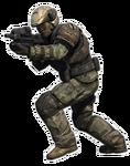 Halo Reach - UNSC Army Infantryman (Crouching)