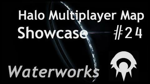 Halo Multiplayer Maps - Halo 2 Waterworks