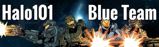 101Blue banner