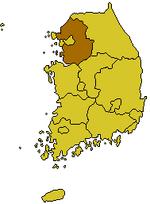 Location of Kyonggi