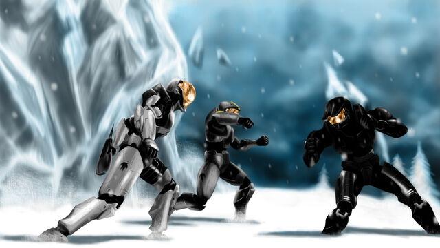 File:Red vs blue ice fight by bashel1k-d412q0w.jpg