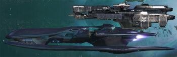 Cov-Corvette-UNSC-Frigate