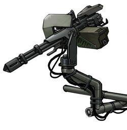 Ih falcon door gun mount