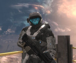 Halo Reach SPARTAN-G006 Cassandra