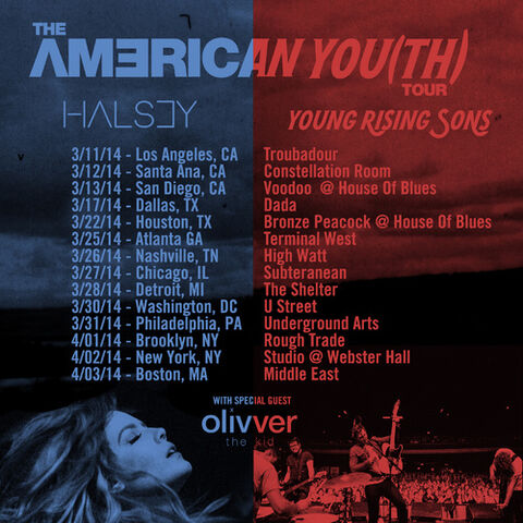 American You(th) Tour Dates