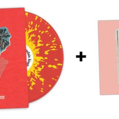 Exclusive red/yellow splatter vinyl + 7