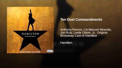 Ten Duel Commandments
