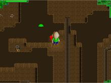 Crumbling cavernPumpkin Keychain