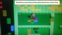 Tomb of Din Colored tile puzzle 2