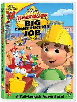 Handy Manny BigConstructionJobDVD