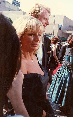 Penny Marshall at the 1988 Emmy Awards