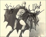 Autographed Adam West Photo
