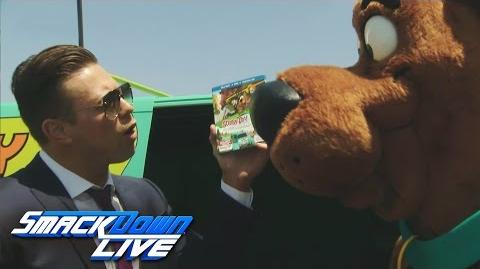 The Miz insults Scooby-Doo SmackDown Live, Aug. 9, 2016