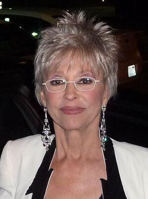 Rita Moreno face