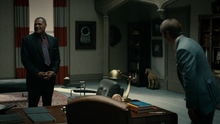 Hannibal Lecter meets Jack Crawford