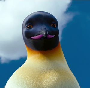 Adult Gloria's close up in Happy Feet Two