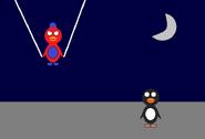 Ramon as Spider Man
