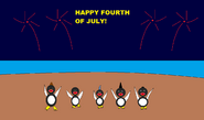 Happy Feet - HAPPY FOURTH OF JULY!